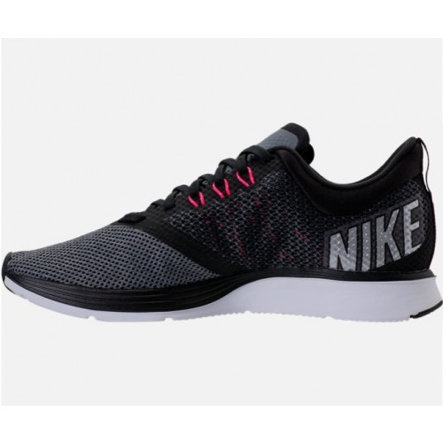 e3141b64fa41e WOMEN S NIKE ZOOM STRIKE RUNNING SHOES (Black Metallic Silver Cool Grey -  AJ0188 005)