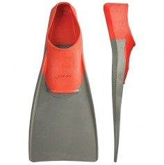 LONG FLOATING FINS (us_7-9eur_39-42 Red/Gray)