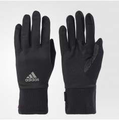 CLIMAWARM RUNNING GLOVES(Black/Ray Red/Reflective Silver)