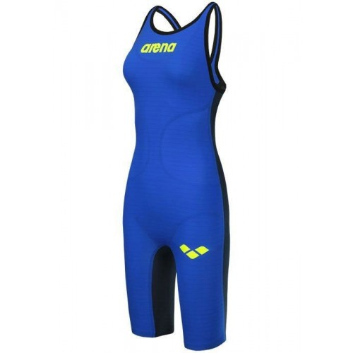 WOMEN'S POWERSKIN CARBON-AIR FULL BODY SHORT LEG OPEN BACK