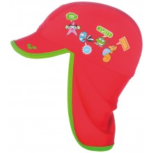 Arena Water Tribe Kids Panel Cap (red-leaf) 000435406