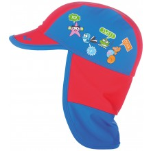 Arena Water Tribe Kids Panel Cap (red-pix blue) 000674408