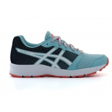 ASICS Patriot 9 GS (Porcelain Blue/White/Flash Coral)