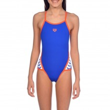 ARENA JUNIOR TEAM STRIPE SWIMSUIT