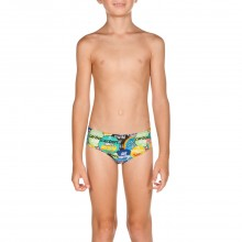 Boy Watchword jr Brief (Shiny Green-Multi ) 001753661