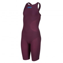 Girls' Powerskin R-EVO ONE Open Back (Red Wine-Turquoise) 001775-448