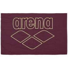 ARENA POOL TOWEL SMART (RED WINE -SHINY GREEN)