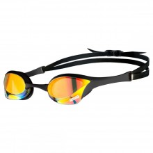 Arena Cobra Ultra Swipe Mirror Goggles (Yellow/Copper/Black)