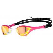 Arena Cobra Ultra Swipe Mirror Goggles (Yellow/Copper/Pink)