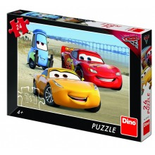 Dino - Puzzle 24 - 100 Τεμ.  CARS 3 ΠΑΡΑΛΙΑ 24 ΤΕΜ.
