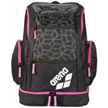 SPIKY 2 LARGE BACKPACK (black x-pivot-fuchsia)