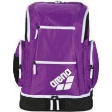 SPIKY 2 LARGE BACKPACK (PURPLE-WHITE-FLUO GREEN)
