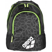 Spiky 2 Backpack (black x-pivot green fluo)