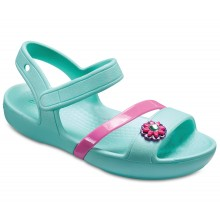 Kids' Crocs Lina Sandals(Mint)