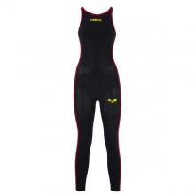 Women's Powerskin R-Evo+ Open Water Full Body Long Leg Open (Black-Fluo Yellow) 25108503