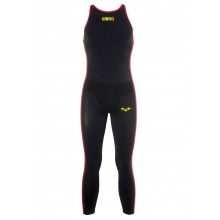 Arena R-Evo+ Men's Open Water Suit (Black / Fluo Yellow)