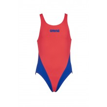 ARENA G SOLID SWIM TECH JR (Fluo Red, Neon Blue)