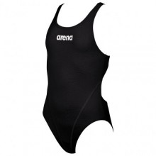 G SOLID SWIM TECH JR (BLACK-WHITE) 2A26255