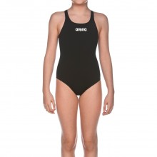 Arena Girl's Solid Swim Pro (black)