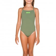 ARENA G SOLID SWIM LIGHTECH JR (Army-Shiny Green)