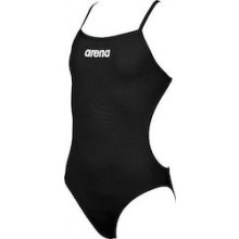G SOLID SWIM LIGHTECH JR (BLACK-WHITE) 2A264