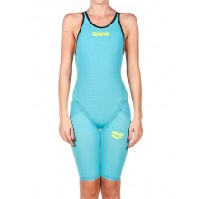 Arena Powerskin Carbon Flex VX Short Leg Open Back (Turquoise)
