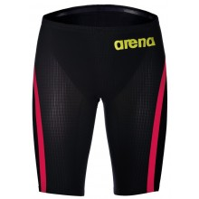 Arena Powerskin Carbon Flex VX Jammers Dark Grey-Fluo Red