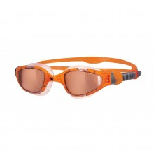 Zoggs Aqua-Flex Titanium Swimming Goggles (Orange)