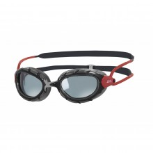 Zoggs Predator Polarized Swimming Goggles (Black/Red)