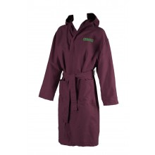 ZEAL BATHROBE (RED WINE -SHINY GREEN) 50045560