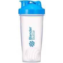 BLENDER BOTTLE CLASSIC 820ML (CLEAR/LIGHT BLUE))