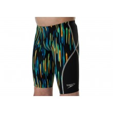Speedo Fastskin Junior LZR Racer X Jammer (Black/Blue/Blue) 8-10628C724