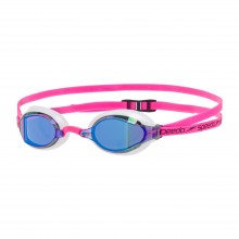 Speedo Fastskin Speedsocket 2 Mirror Goggle (Pink/White/Blue)