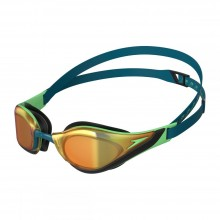 Speedo Fastskin Pure Focus Mirror Goggle (Green)