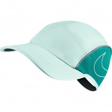 Nike AeroBill Women's Running Cap (igloo/turbo green/igloo)