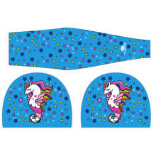 Turbo Lycra Swimcap Unicorn