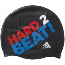 Adidas Slogan Swimcap - black/ray red /white