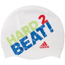 Adidas Slogan Swimcap (white/solar green/solar red)