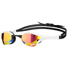 COBRA ULTRA MIRROR GOGGLE RED/REVO/WHITE/BLACK