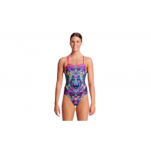 FUNKITA Ladies Single Strap One Piece (Wolf Pack)