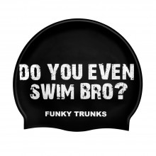 SILICONE SWIMMING CAP (SWIM BRO ?)