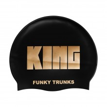 SILICONE SWIMMING CAP (CROWN JEWELS)