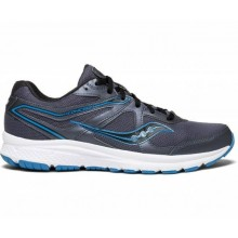 SAUCONY GRID COHESION 11(GREY/BLUE)