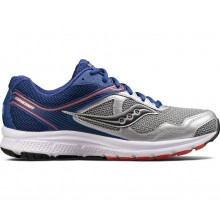 SAUCONY COHESION 10 (SILVER/BLUE/ORANGE)