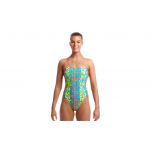 FUNKITA LADIES TWISTED ONE PIECE (SECOND SKIN)