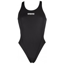 WOMEN'S SOLID SWIM PRO (black,white)