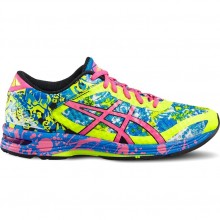 Asics GEL-Noosa Tri 11 Women Running Shoe (safety yellow/hot pink/electric blue)