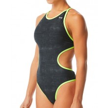 Γυναικείο μαγιό TYR - WOMEN'S SANDBLASTED MONOFIT SWIMSUIT