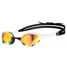 Arena Cobra Ultra Swipe Mirror Goggles (yellow/copper/white)