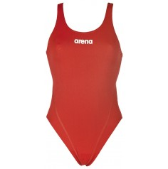 Arena Women's Solid Swim Tech High (red,white)